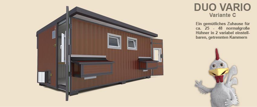 h hnerstall duo vario f r 25 45 h hner in 2 gruppen. Black Bedroom Furniture Sets. Home Design Ideas