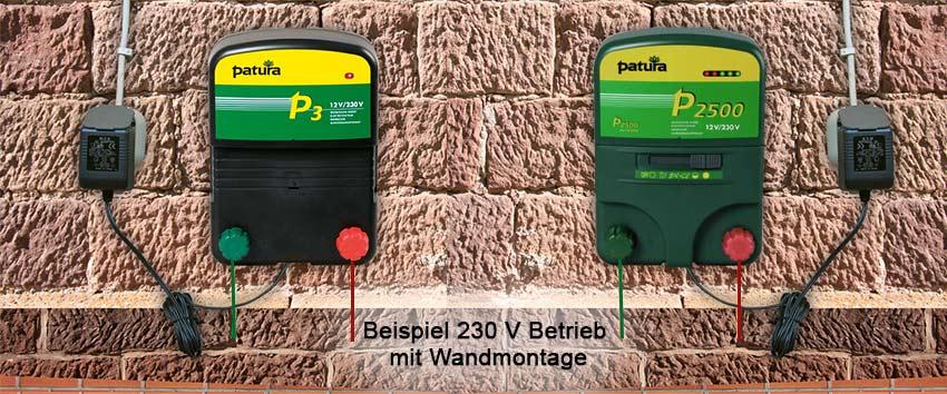 Elektrozaun / Hühnerzaun / Weidezaungerät von Patura