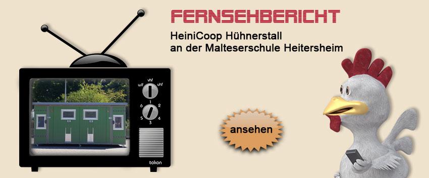HeiniCoop Hühnerstall im Fernsehen
