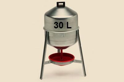 Hühnertränke aus Metall - Siffontränke für die Hühnerhaltung