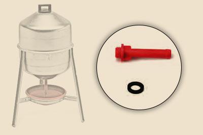 Ersatzteil für die Siphontränke aus Metall
