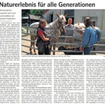 Heinicoop Huehnerstall Duo Vista Zeitungsartikel