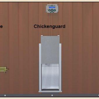 Automatische Hühnertüre