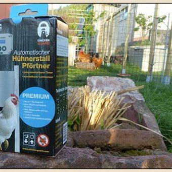 Chickenguard - automatisch Huehnerstall schließen