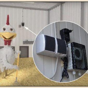 Elektrik für die Hühnerställe