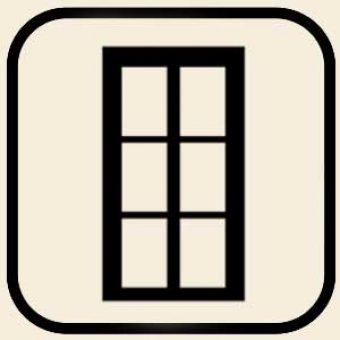Fenster im Huehnerstall