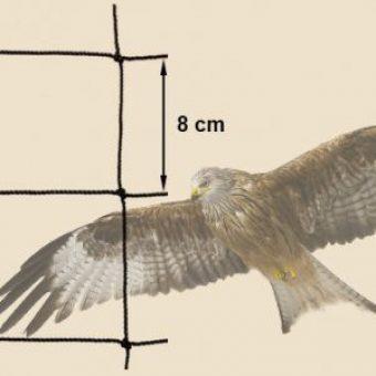 Greifvogelnetz / Schutznetz für den Huehnerauslauf
