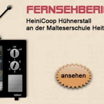 HeiniCoop Huehnerstall im Fernsehen